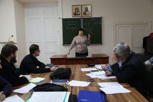 Началась сессия у второго курса заочного отделения семинарии