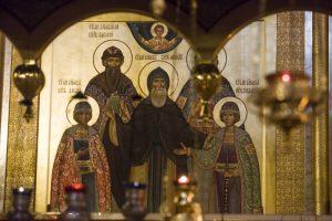 Память благоверных князей Феодора, Давида и Константина. Всенощное бдение