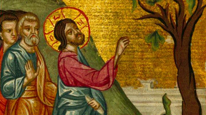 Пойдем со Христом к горе Елеонстей… Великий понедельник Страстной седмицы