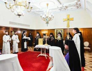 Состоялось наречение архимандрита Бориса (Баранова) во епископа Некрасовского