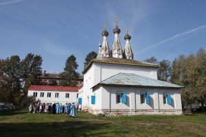 Престольный праздник храма Владимирской иконы на Божедомке