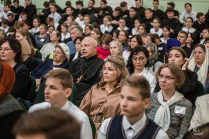 Монахиня Георгия (Кислова) приняла участие в праздновании 210-летию Сакнкт-Петербургской академии и 40-летия открытия Регентского отделения