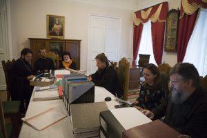 Комиссия Учебного комитета посетила Ярославскую духовную семинарию
