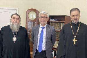 В педагогическом университете обсудили вопросы сотрудничества духовной семинарии и университета