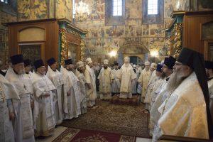 В Феодоровском соборе почтили память архиепископа Михея (Хархарова)