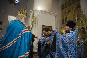 Иерей Артемий Пацкалев удостоен права ношения наперсного креста